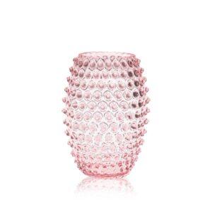 Rosaline Egg Hobnail Vase