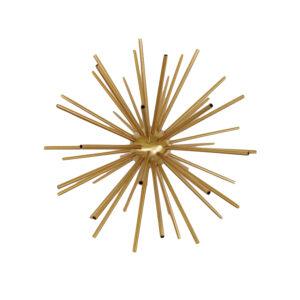 Starburst ball in gold