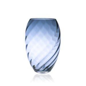 Underlay Blue Smoke Marika Tall Vase
