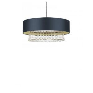 "Ceiling Light 24"" Crystal Pendant lifestyle image"